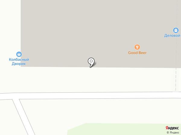 Колбасный дворик на карте Смоленска