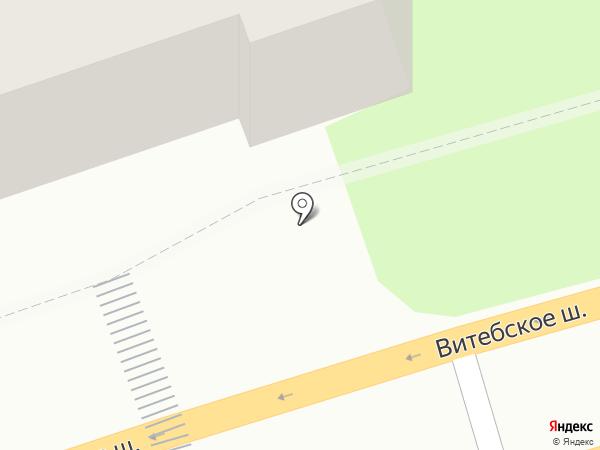 Гарант на карте Смоленска