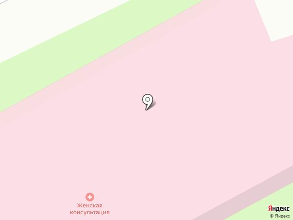 Клиническая больница №1 на карте Смоленска