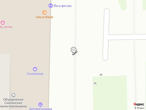 ОБЪЕДИНЕНИЕ СМОЛЕНСКИХ ПРОЕКТИРОВЩИКОВ на карте Смоленска