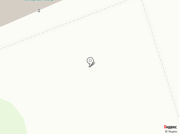 Смоленский камерный театр на карте Смоленска