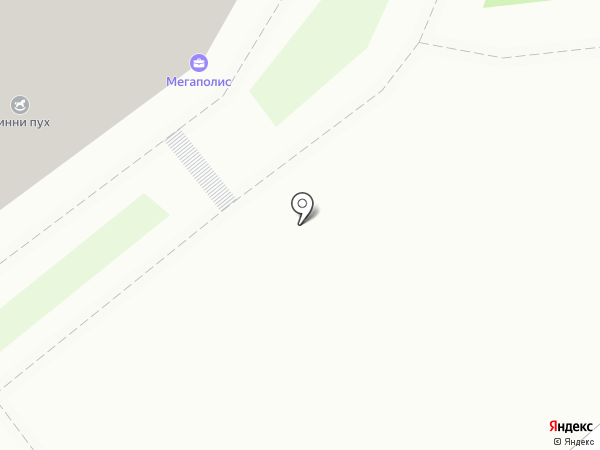 Радуга на карте Смоленска