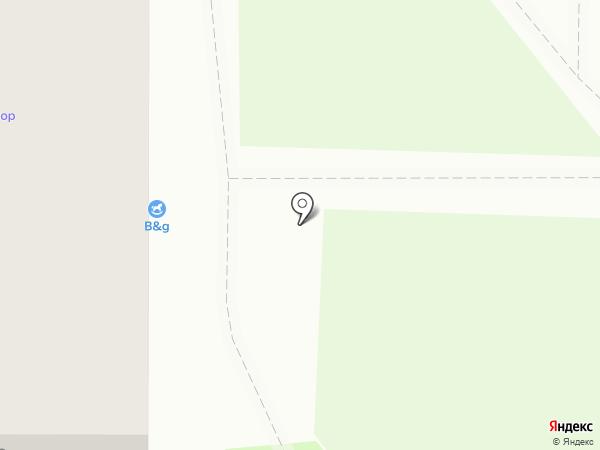 Тенториум на карте Смоленска