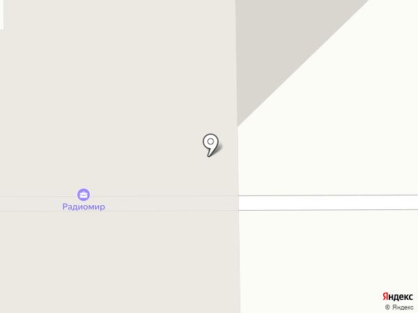 Акватория на карте Смоленска