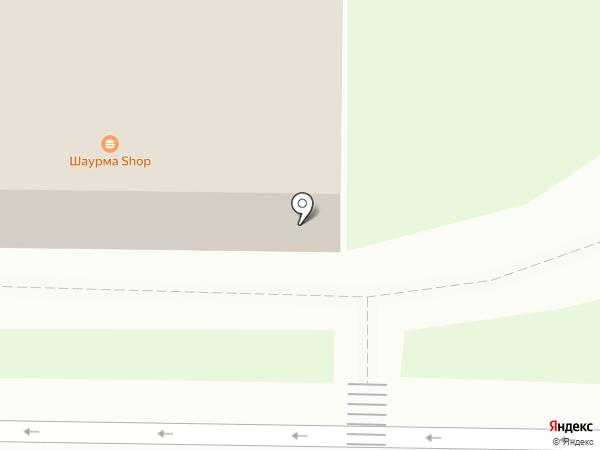 Островок кофе на карте Смоленска
