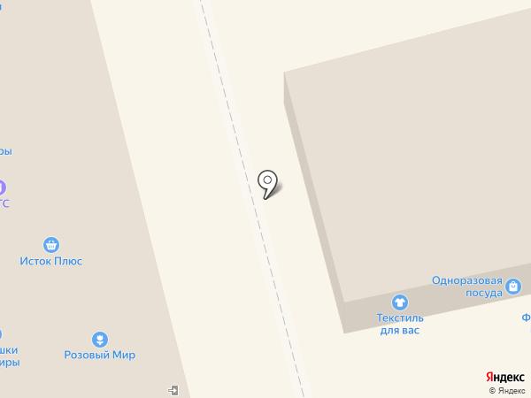ТЕЗА, ЗАО на карте Смоленска