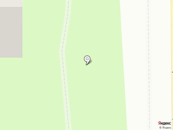 Любава на карте Смоленска
