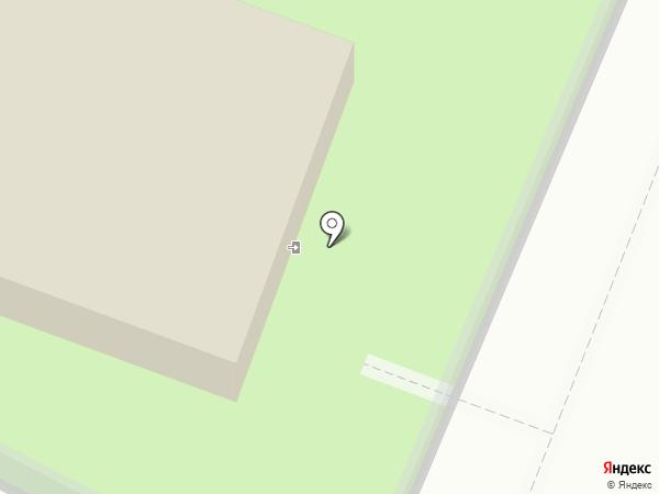 Лопатинский сад на карте Смоленска