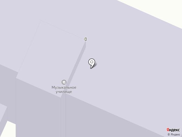 Смоленское областное музыкальное училище им. М.И. Глинки (техникум) на карте Смоленска