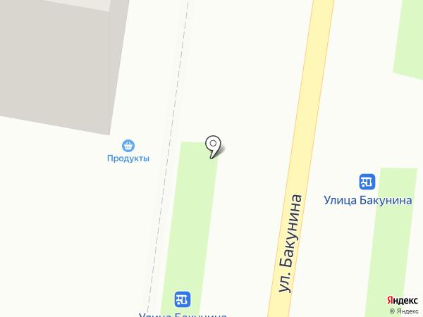 Старый дворик на карте Смоленска