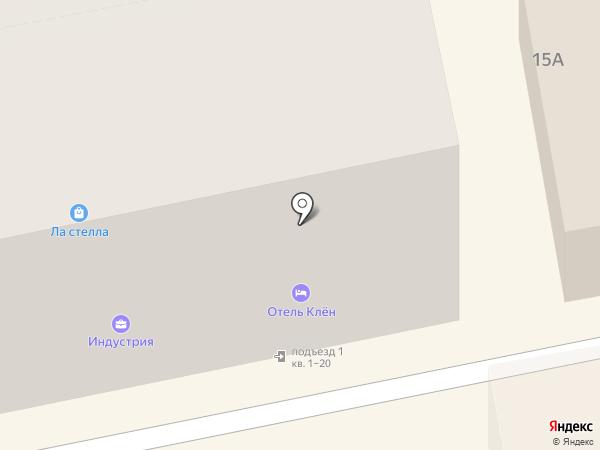 Бочонок на карте Смоленска
