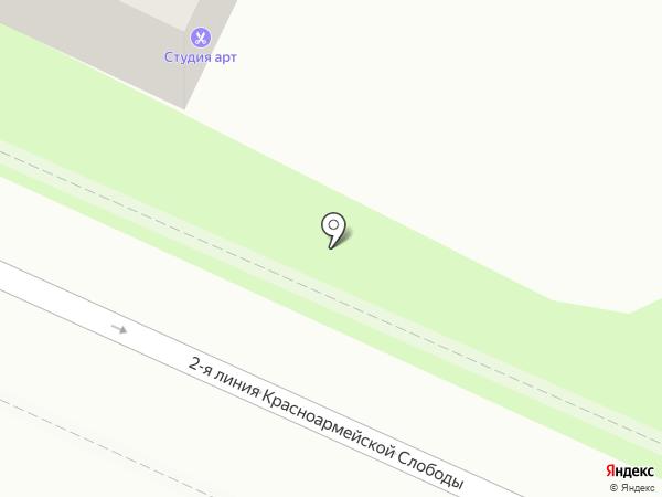 Арт на карте Смоленска