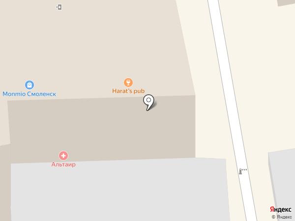 Harat`s Irish pub на карте Смоленска