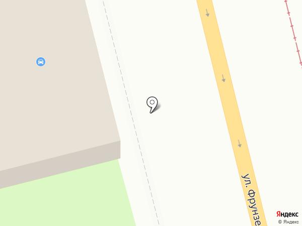 Шиномонтажная мастерская на карте Смоленска