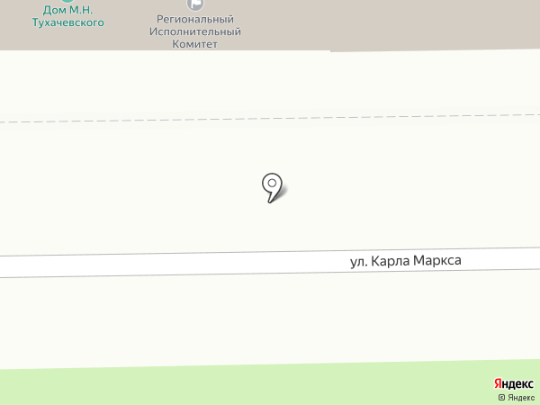 Общественная приемная председателя партии Медведева Д.А. на карте Смоленска