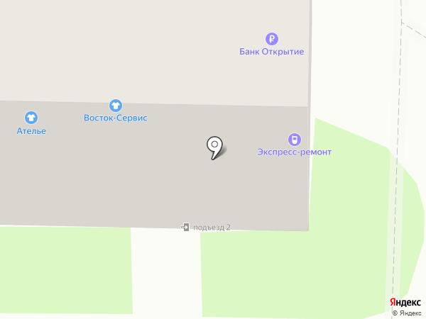 Банкомат, Бинбанк на карте Смоленска