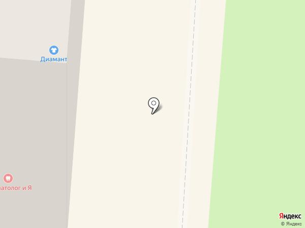 ДИАМАНТ на карте Смоленска