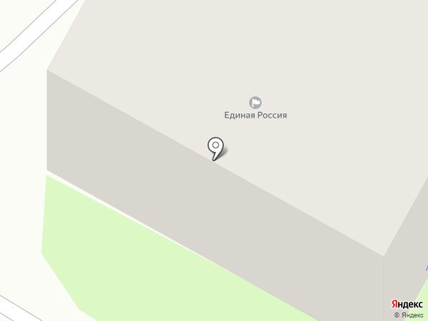 Участковый пункт полиции №4 в Заднепровском районе на карте Смоленска