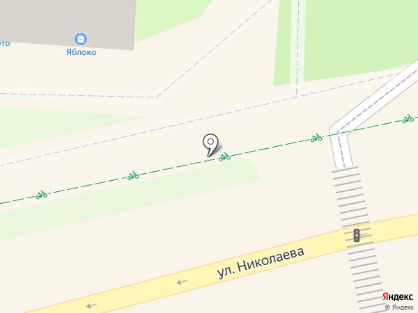 СмолОрто на карте Смоленска