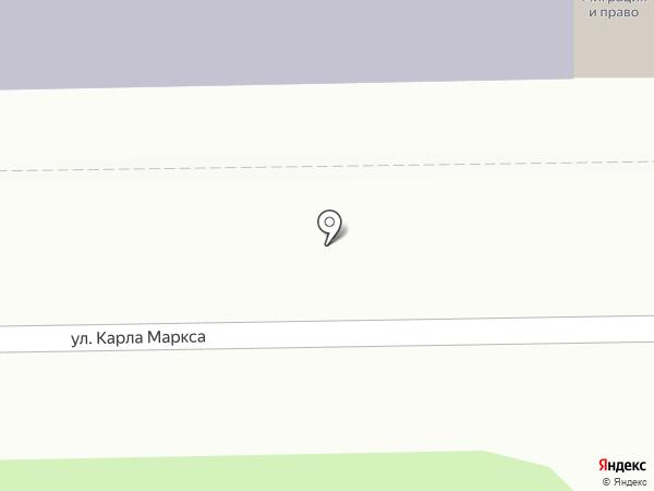 Детская музыкальная школа №1 им. М.И. Глинки на карте Смоленска