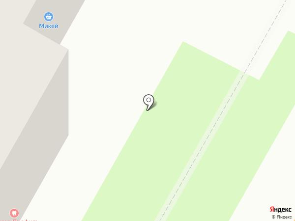 ЖЭУ №21 на карте Смоленска