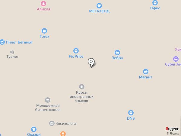 Si на карте Смоленска