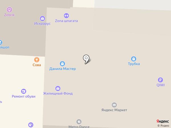 БИС+ на карте Смоленска