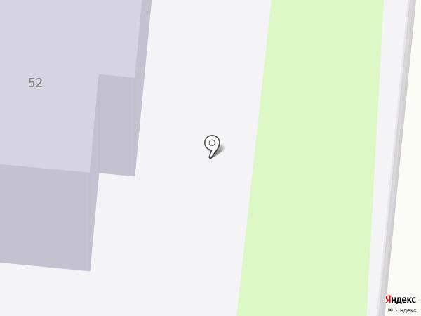 Участковый пункт полиции №6 в Ленинском районе на карте Смоленска