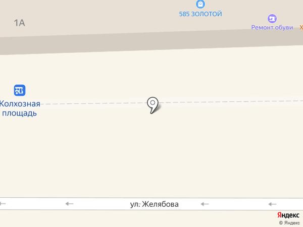 Микей на карте Смоленска