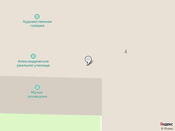 Смоленский государственный музей-заповедник на карте Смоленска