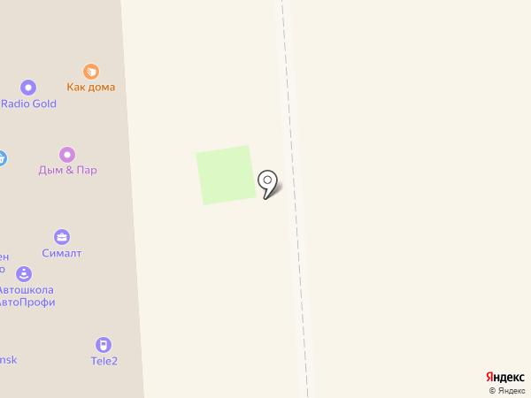 Как дома на карте Смоленска