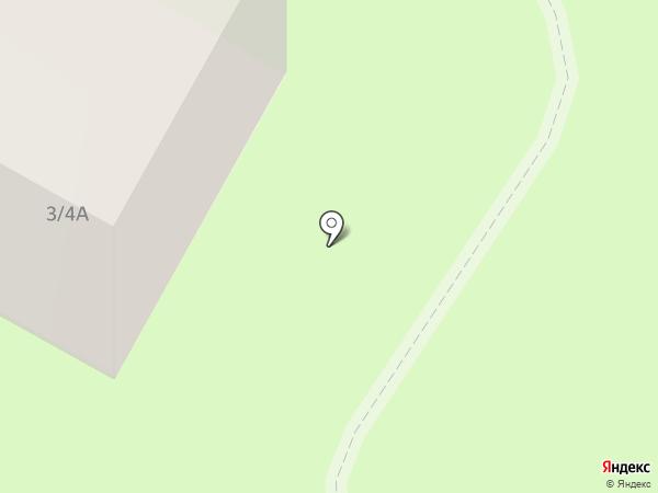 Прибор на карте Смоленска