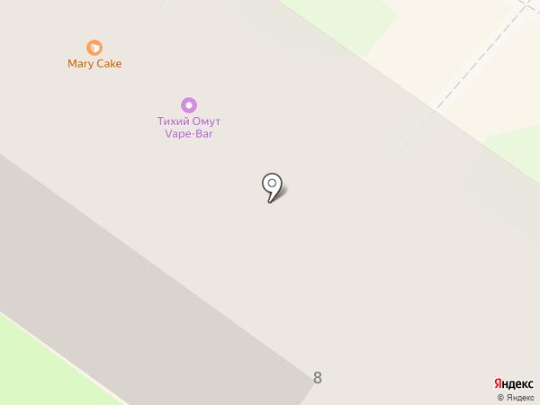 Полный Бак на карте Смоленска