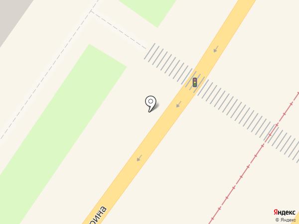 Банкомат, АБ Россия на карте Смоленска