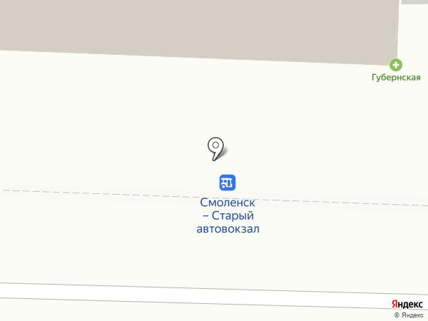Центр космических услуг и геоинформационных систем на карте Смоленска