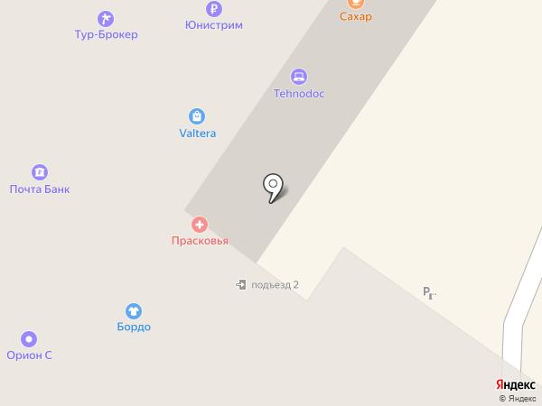 Полис на карте Смоленска
