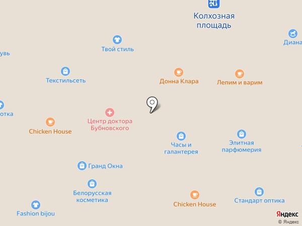 Домино на карте Смоленска