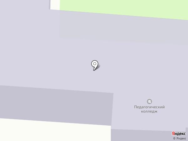 Смоленский педагогический колледж на карте Смоленска