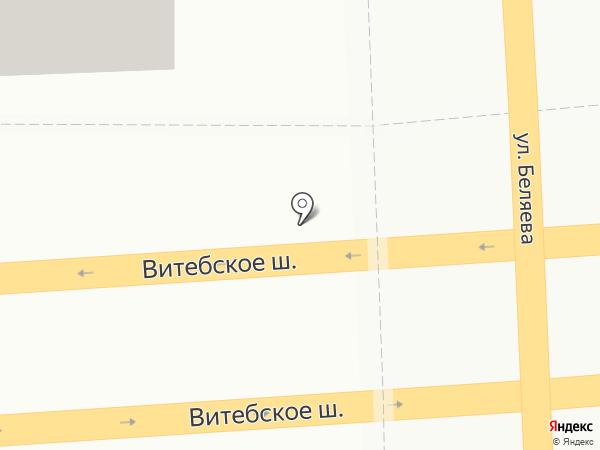 Мототехника на карте Смоленска