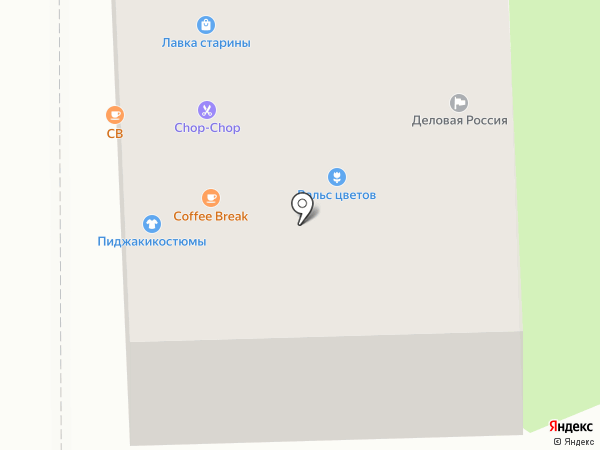 Крисман на карте Смоленска