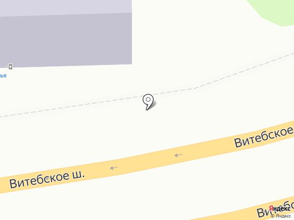 Автоясли 67 на карте Смоленска