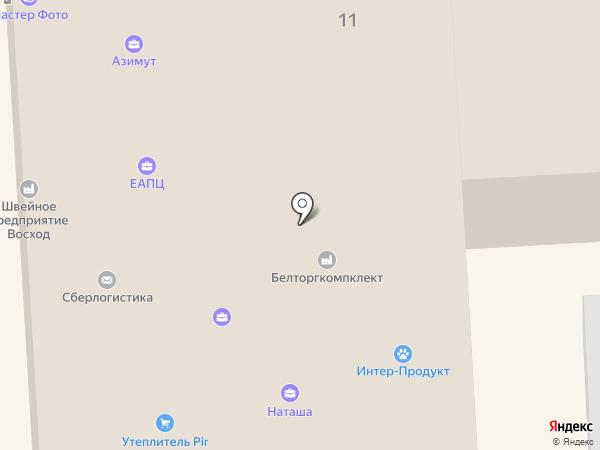 Сток на карте Смоленска