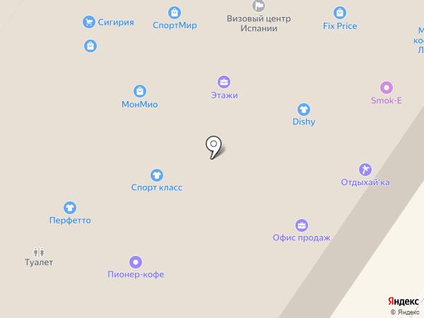 Soroka-nail на карте Смоленска