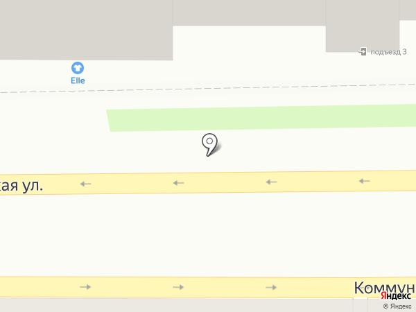 Elle на карте Смоленска