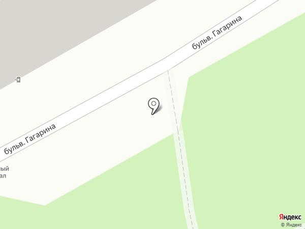 Детская поликлиника №4 на карте Смоленска
