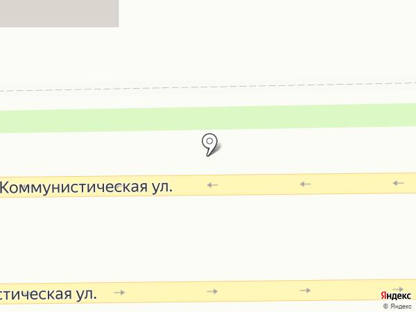 Участковый пункт полиции №1 в Ленинском районе на карте Смоленска