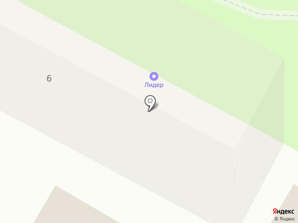 ДЮСШОР №2 на карте Смоленска