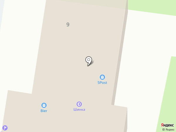 Адвокатский кабинет Петрова А.В. на карте Смоленска