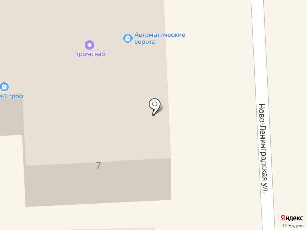 СанТехДом на карте Смоленска