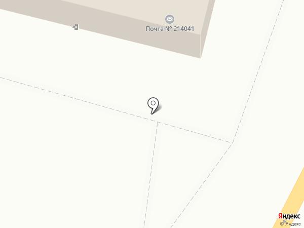 Арбитражный суд Смоленской области на карте Смоленска